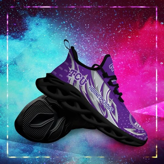 TCU Horned Frogs clunky max soul shoes - LIMITED EDITION