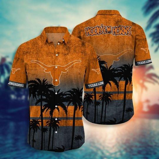 Texas Longhorns Hawaiian Shirt -BBS