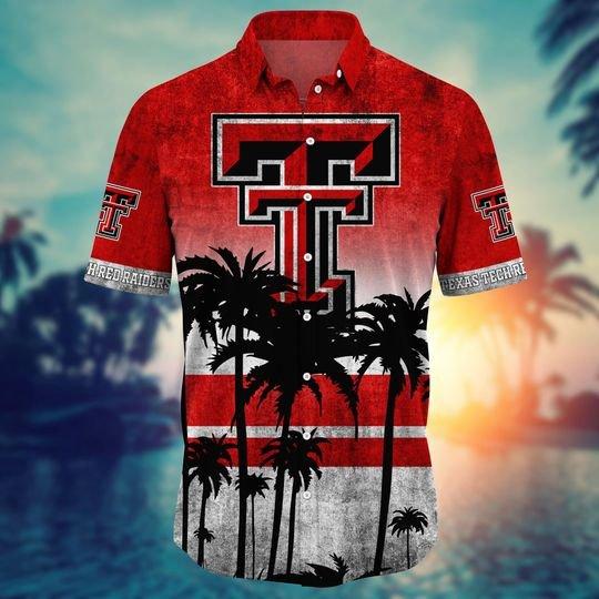 Texas Tech Red Raiders Hawaiian Shirt -BBS
