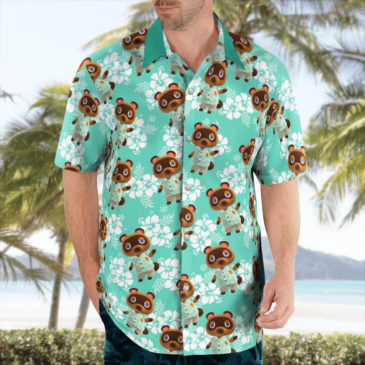 Tom Nook Hawaiian shirt - LIMITED EDITION