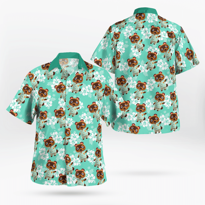 Tom nook hawaiian shirt