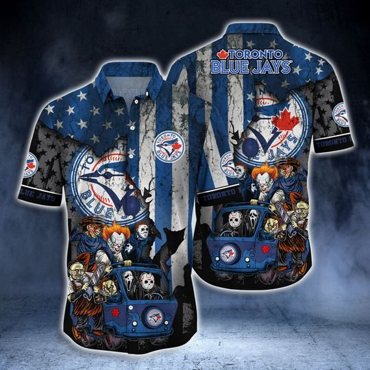 Toronto Blue Jays Summer Hawaiian Shirt  -BBS