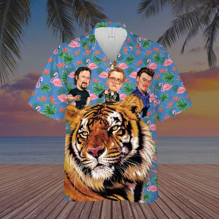 Trailer park buds hawaiian shirt