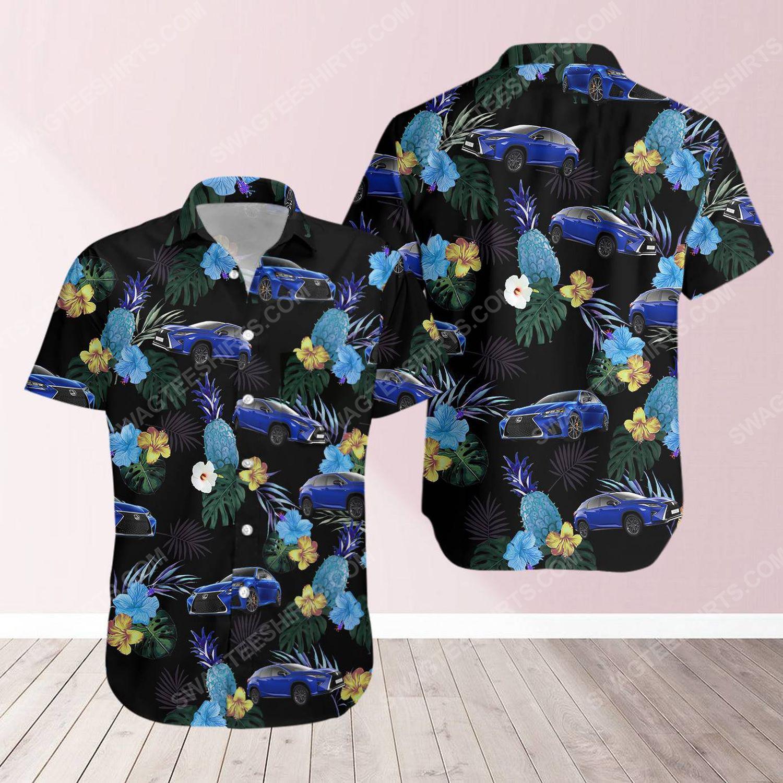 Tropical summer lexus short sleeve hawaiian shirt 1