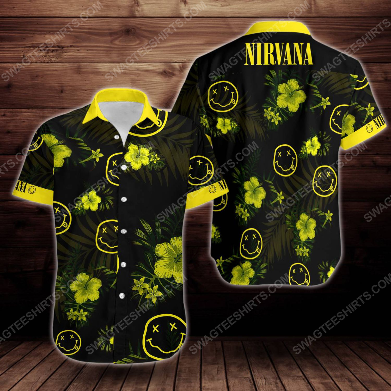 Tropical summer nirvana short sleeve hawaiian shirt 1