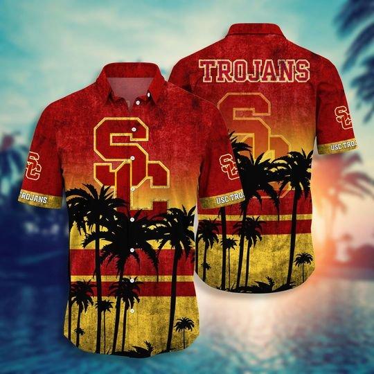 USC Trojans Hawaiian Shirt -BBS
