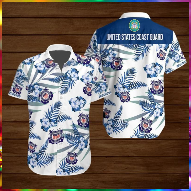 United States Coast Guard Hawaiian shirt - LIMITED EDITION