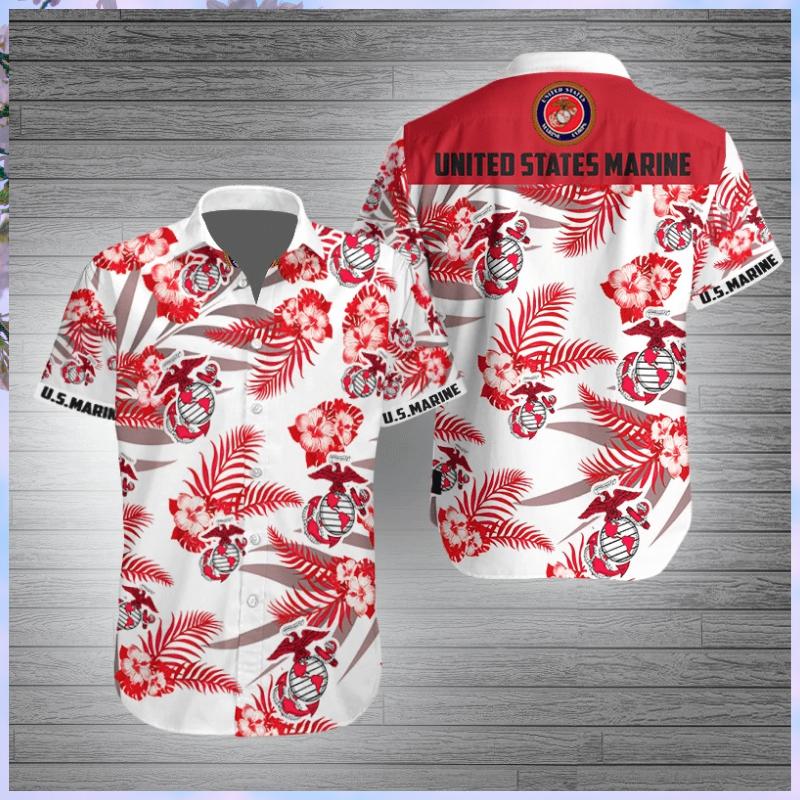United States Marine Corps Hawaiian shirt - LIMITED EDITION