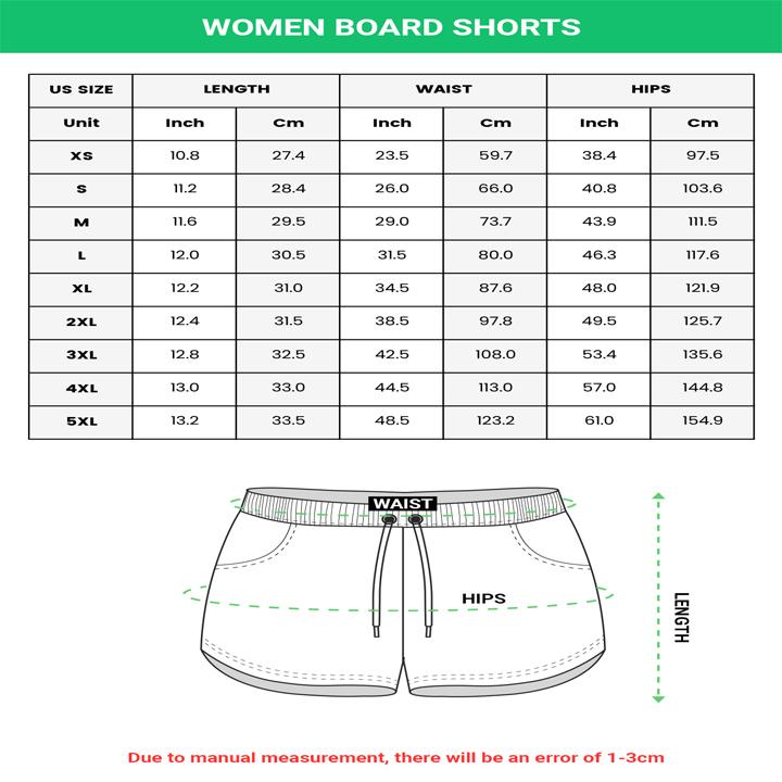 Women Board Shorts
