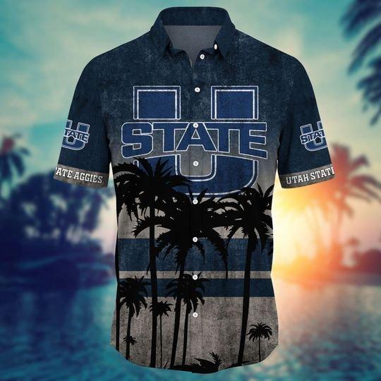 Utah State Aggies Hawaiian Shirt -BBS