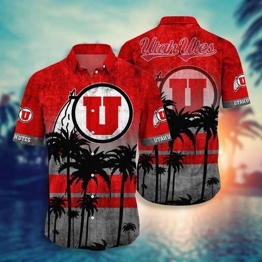 Utah Utes Hawaiian Shirt -BBS