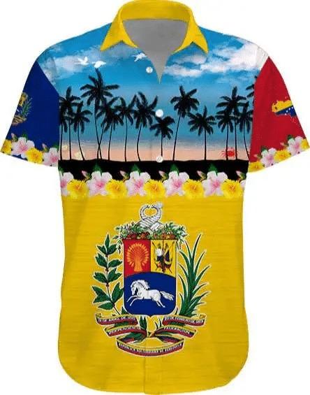 [HOT TREND] Venezuela Tropical Short Sleeve Hawaiian Shirt – Hothot 080921