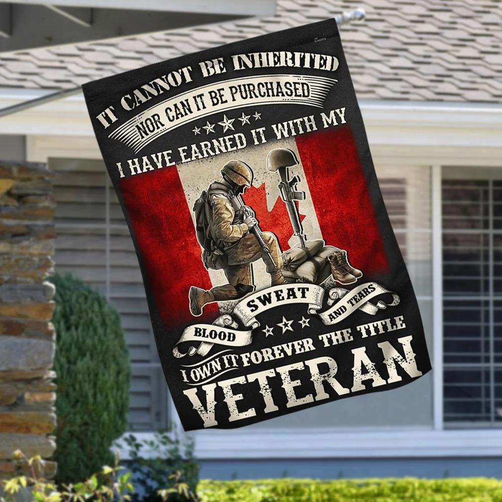 Veteran Flag Forever The Title Veteran Canadian Flag - Hothot 030921