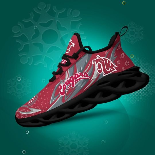 Washington State Cougars clunky max soul shoes - LIMITED EDITION