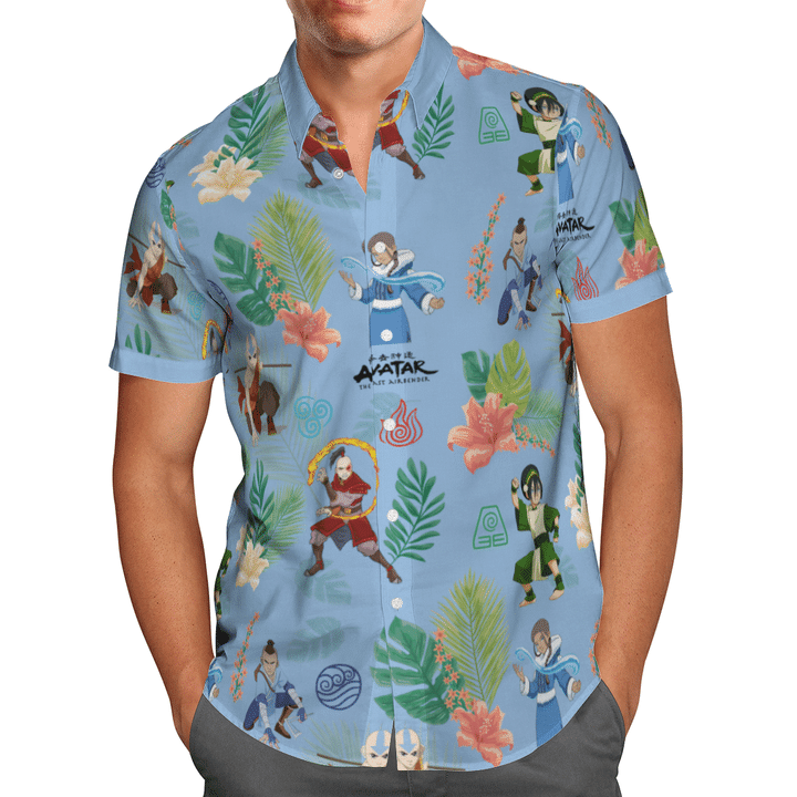 Water tribe hawaiian shirt