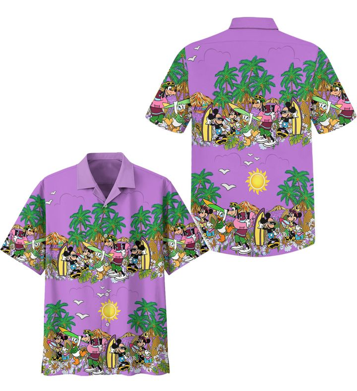 Mickey Mouse universe hawaiian shirt