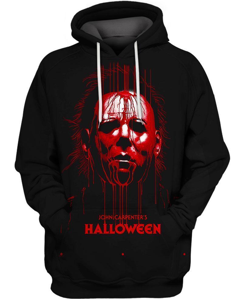 Michael myers halloween 3d hoodie - maria
