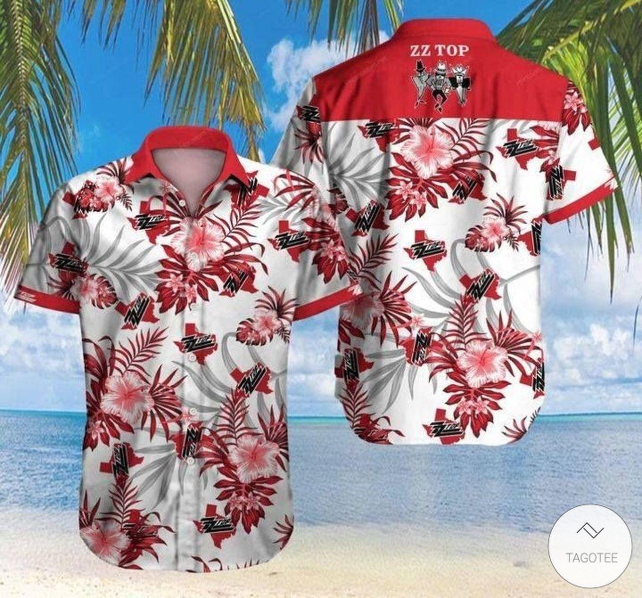 ZZ Top Hawaiian Shirt