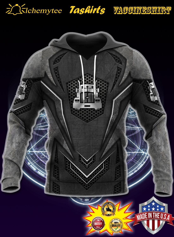 Love metal truck 3d all over printed hoodie