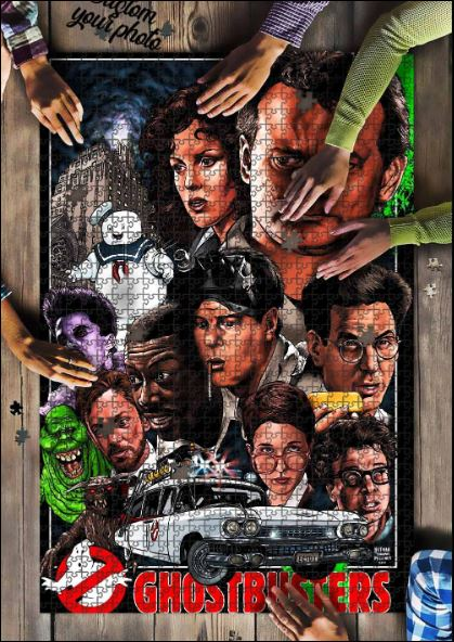 Ghostbusters Jigsaw Puzzle