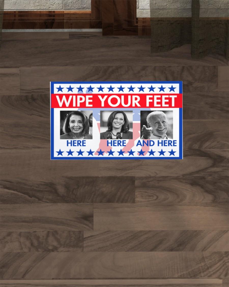 American Flag Wipe your feet doormat