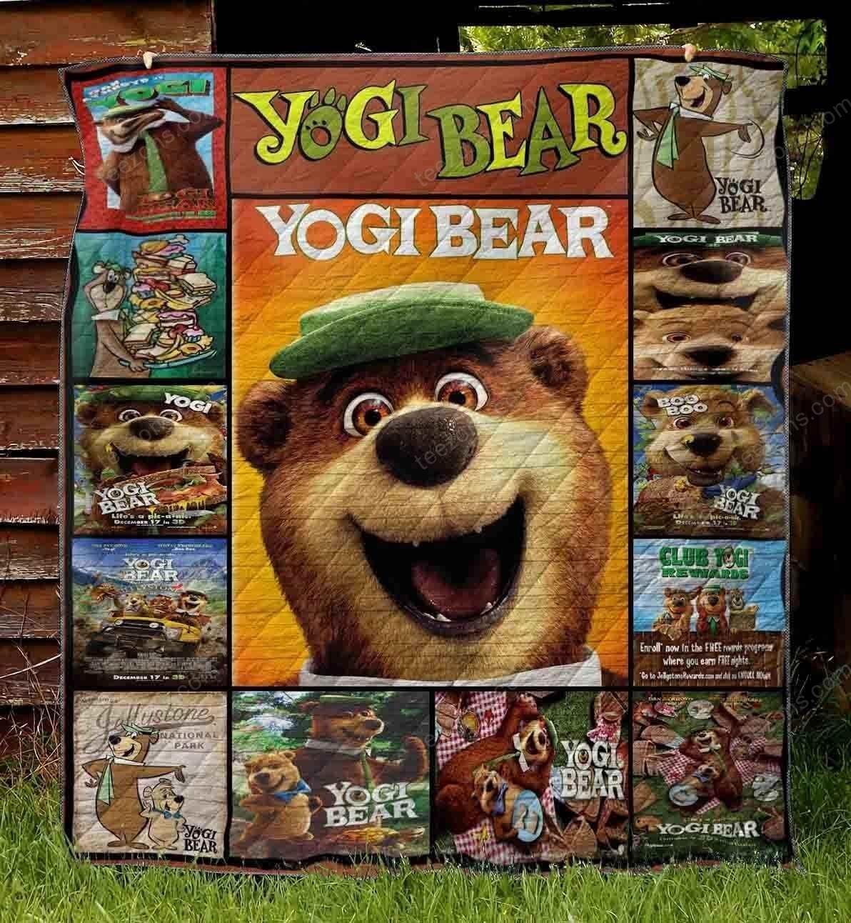 3D Yogi Bear Quilt