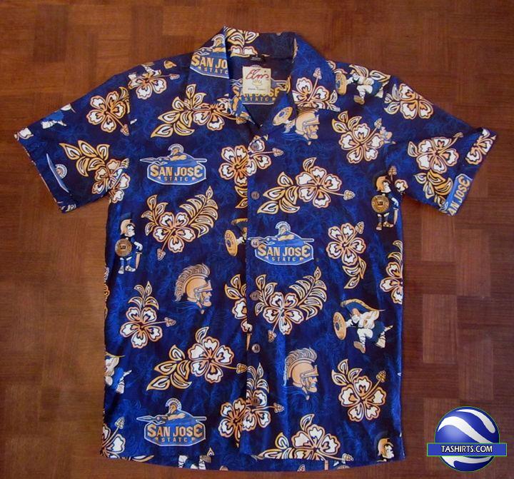 San Jose State Spartans NCAA Hawaiian Shirt