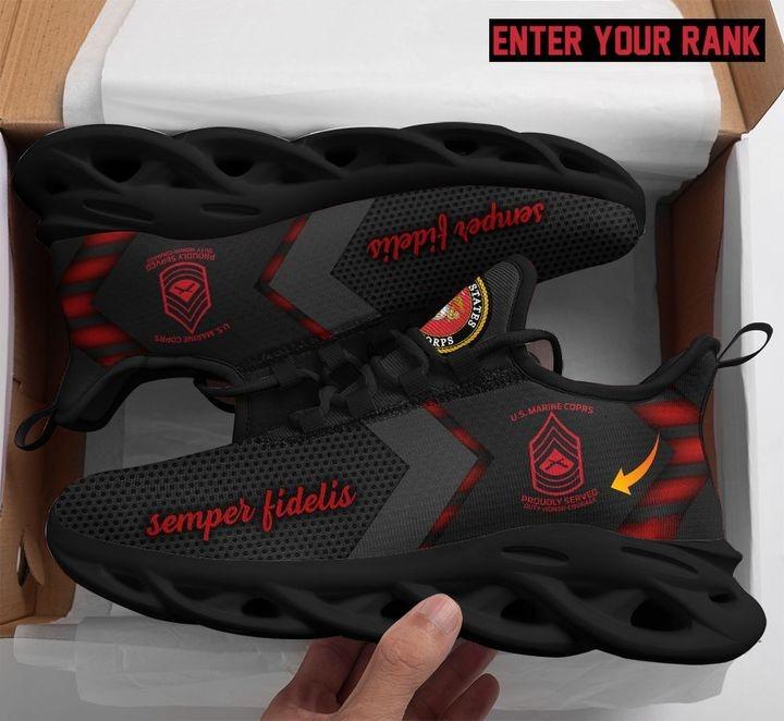 US marine max soul shoes customized rank