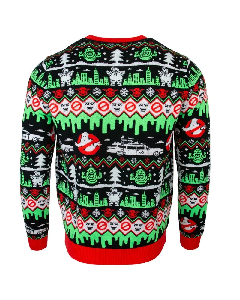 Ghostbusters christmas sweater- pic 2