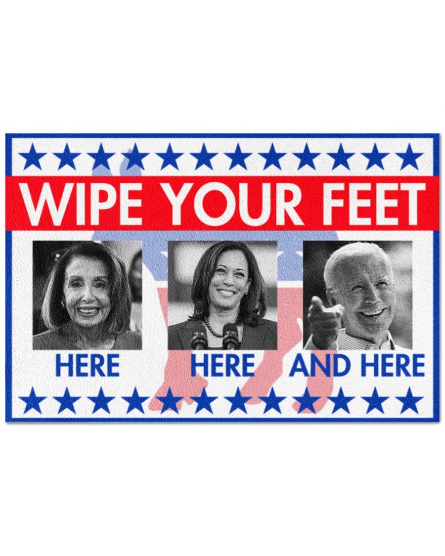 Wipe your feet here Joe Biden doormat