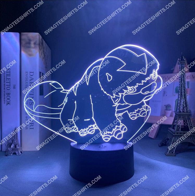 appa avatar the last airbender anime 3d night light led 21
