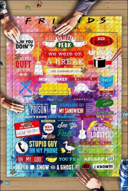 Friends TV show puzzle