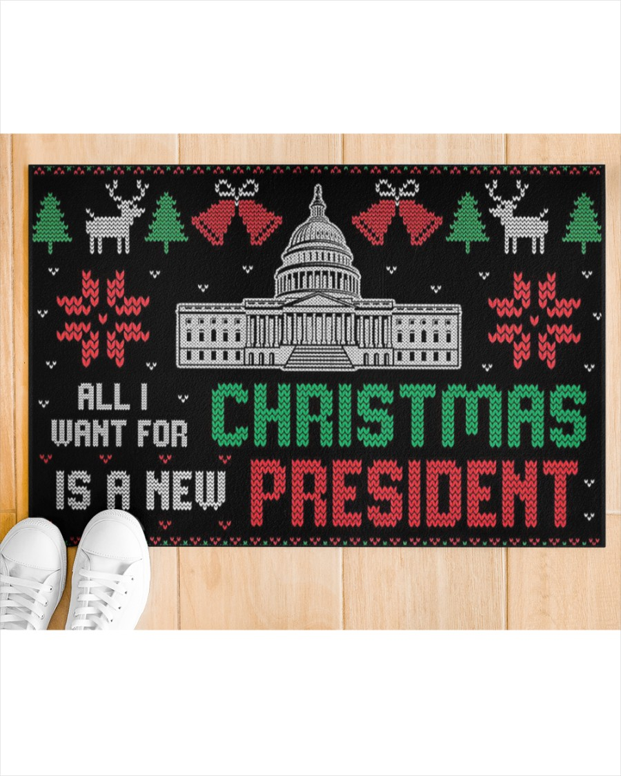 All I want for christmas is a new president doormat