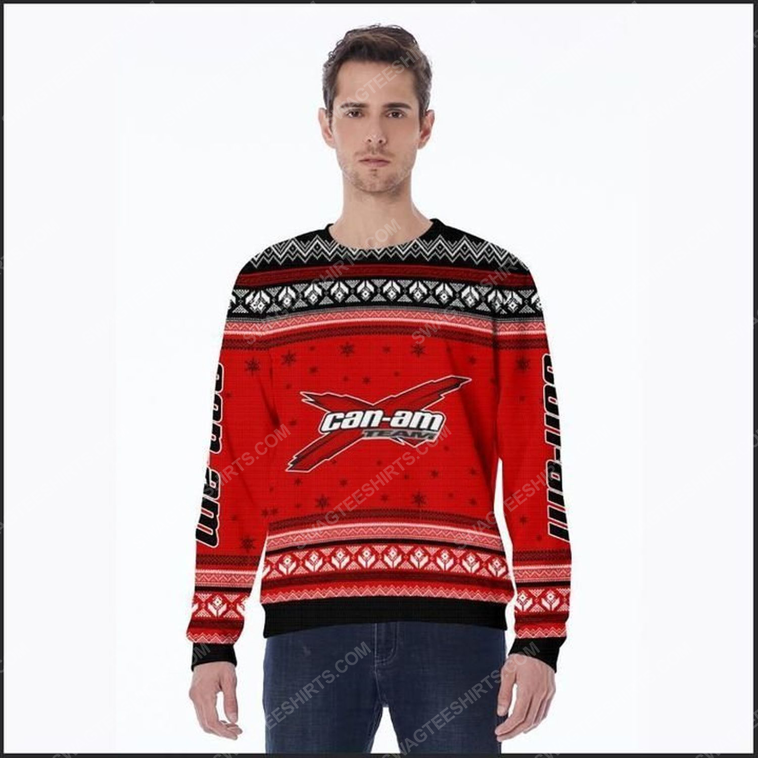 Can-am racing team ugly christmas sweater
