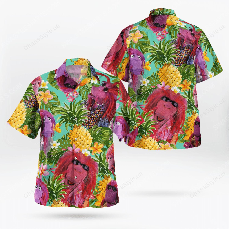 Clifford the big red dog hawaiian shirt