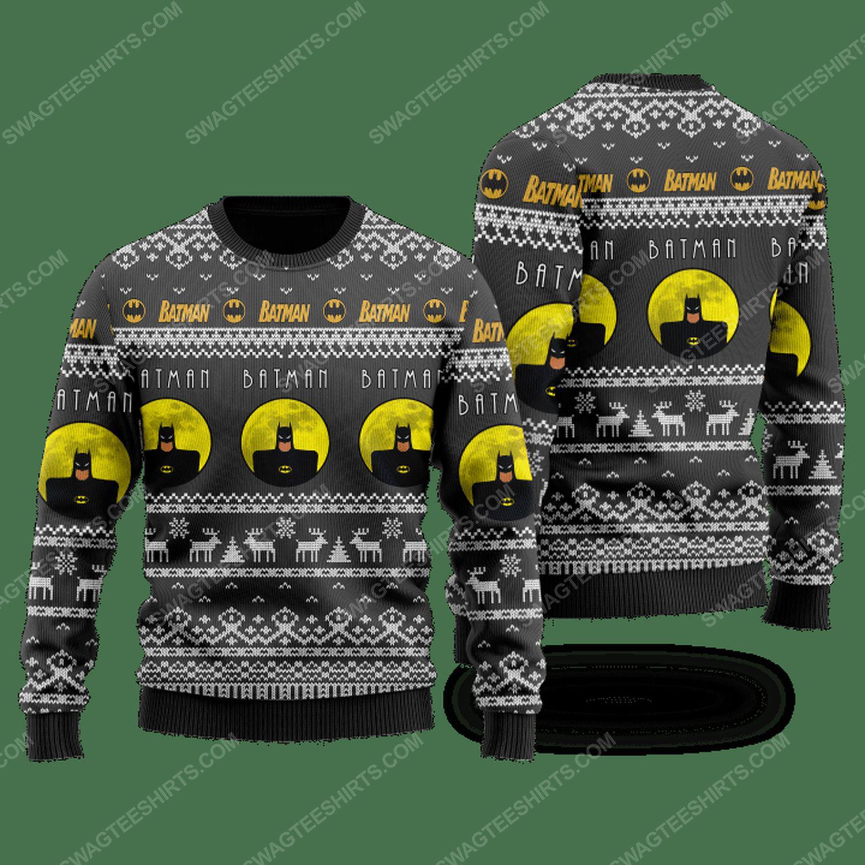 DC comics batman ugly christmas sweater