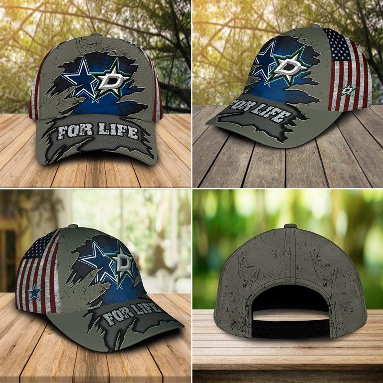 Dallas Cowboys and Sport teams For Life custom cap hat2