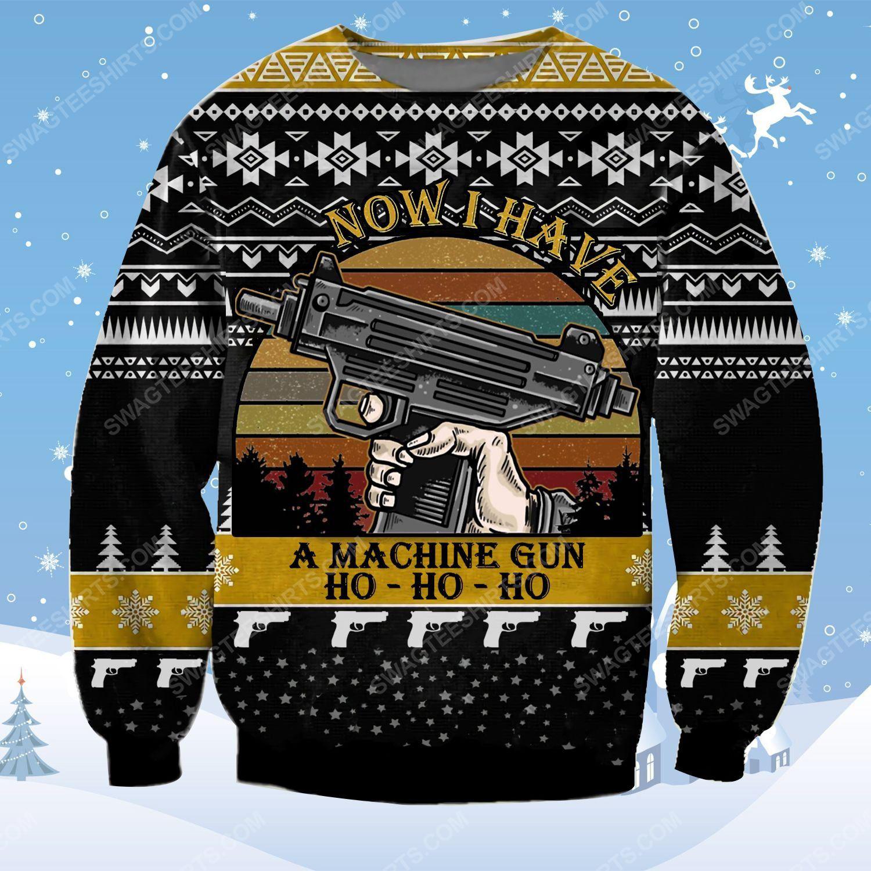 Die hard now i have a machine gun ho ho ho ugly christmas sweater