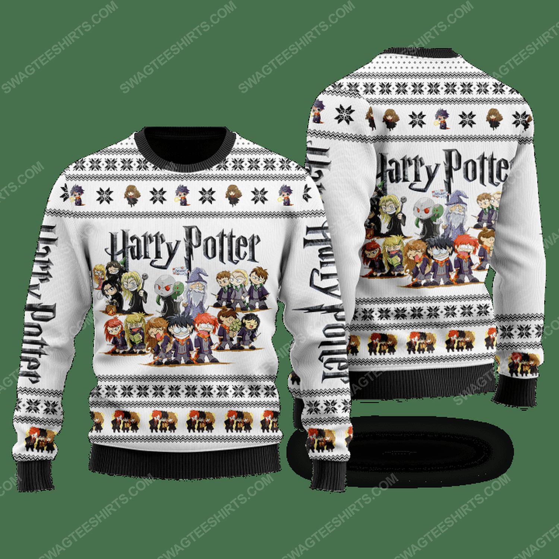 Harry potter chibi ugly christmas sweater