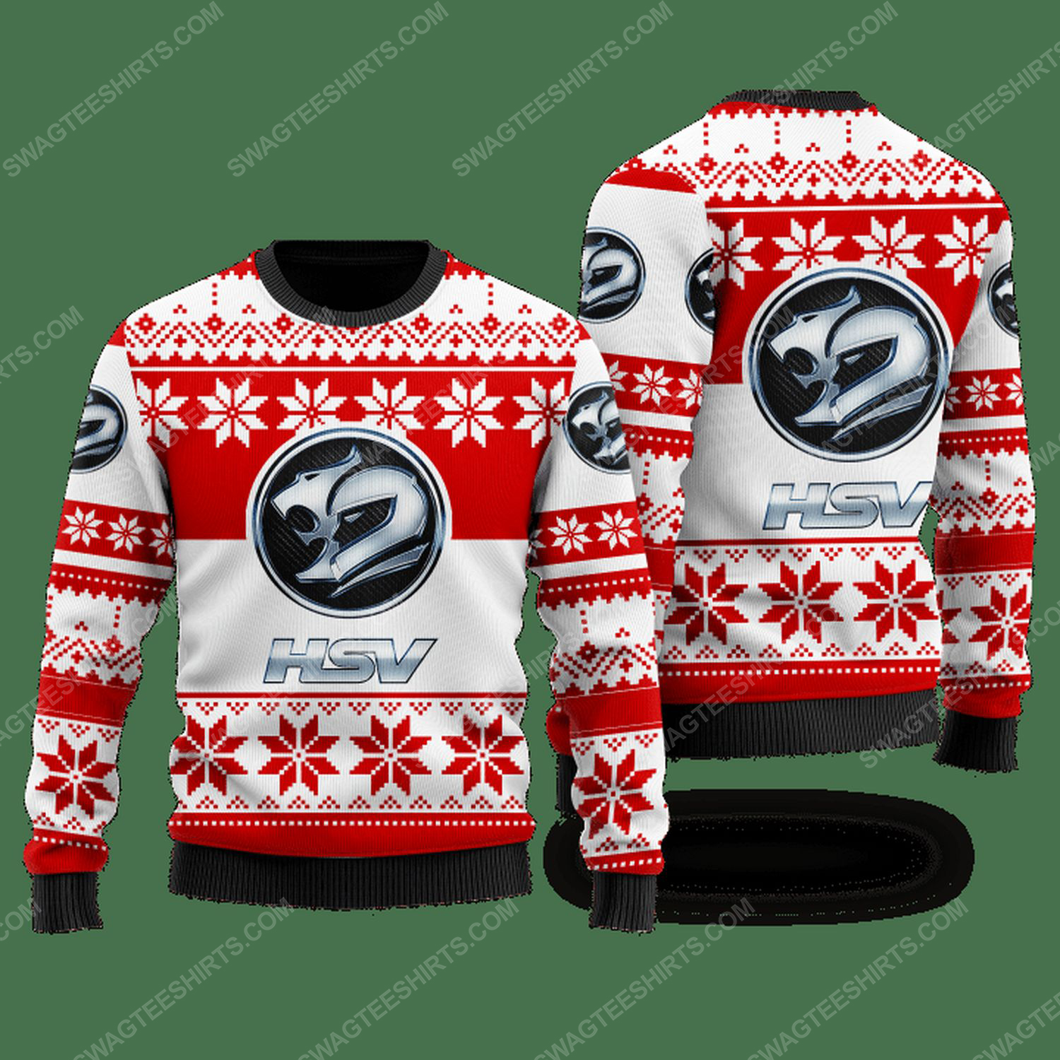 Holden special vehicles car ugly christmas sweater