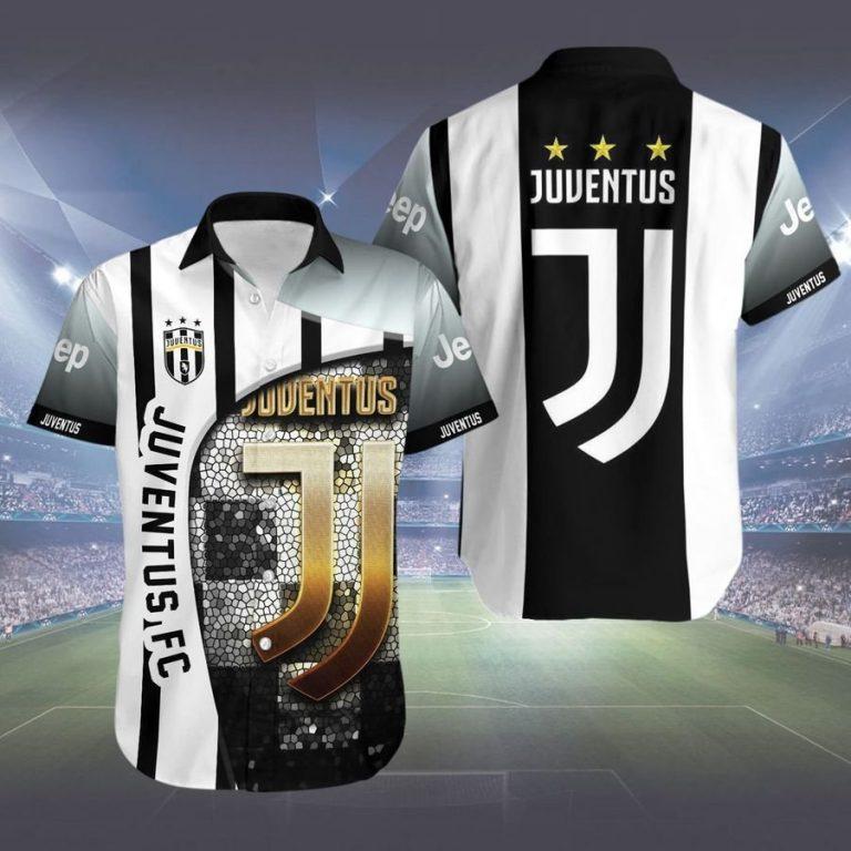 Juventus FC hawaiian shirt