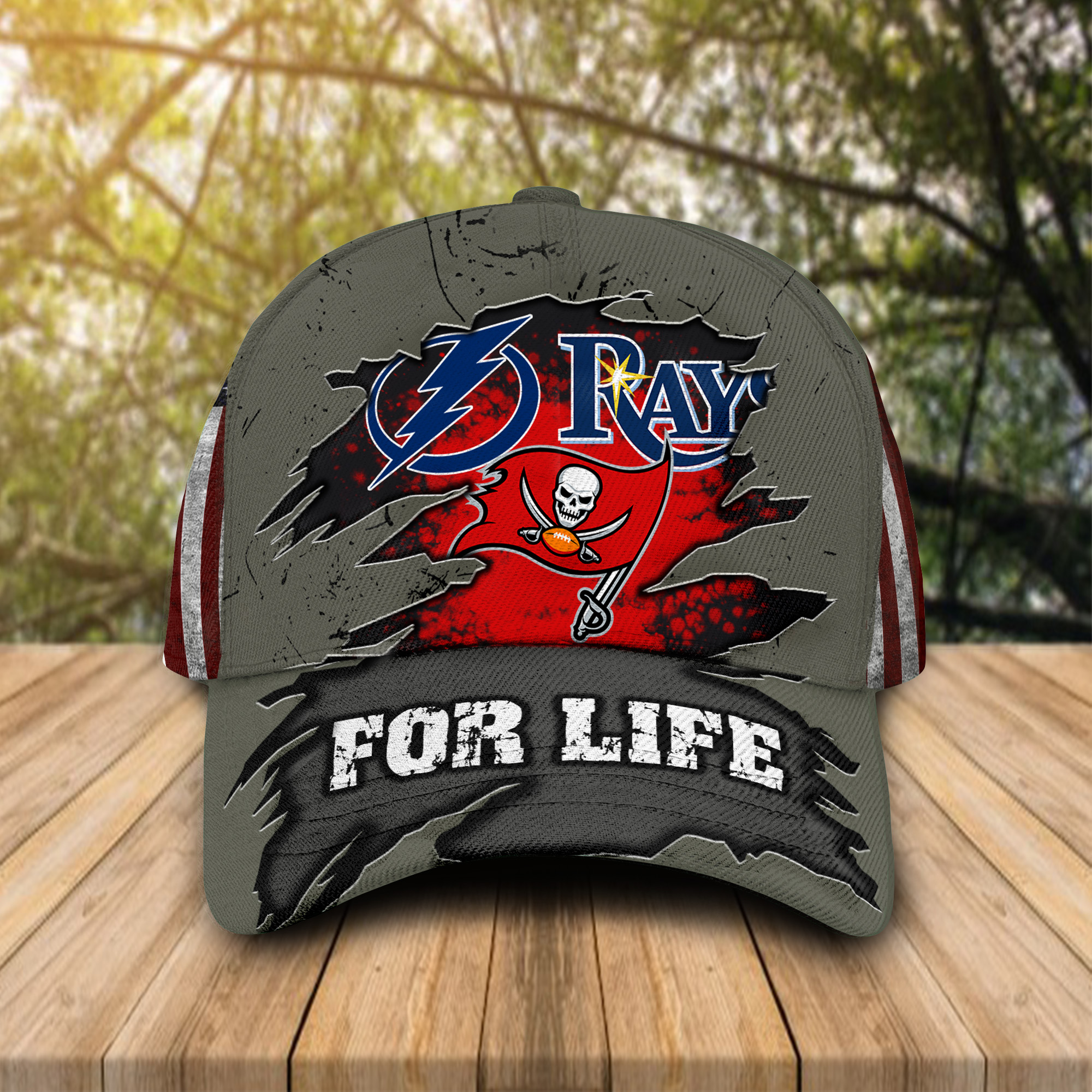 Tampa Bay sports for life cap hat