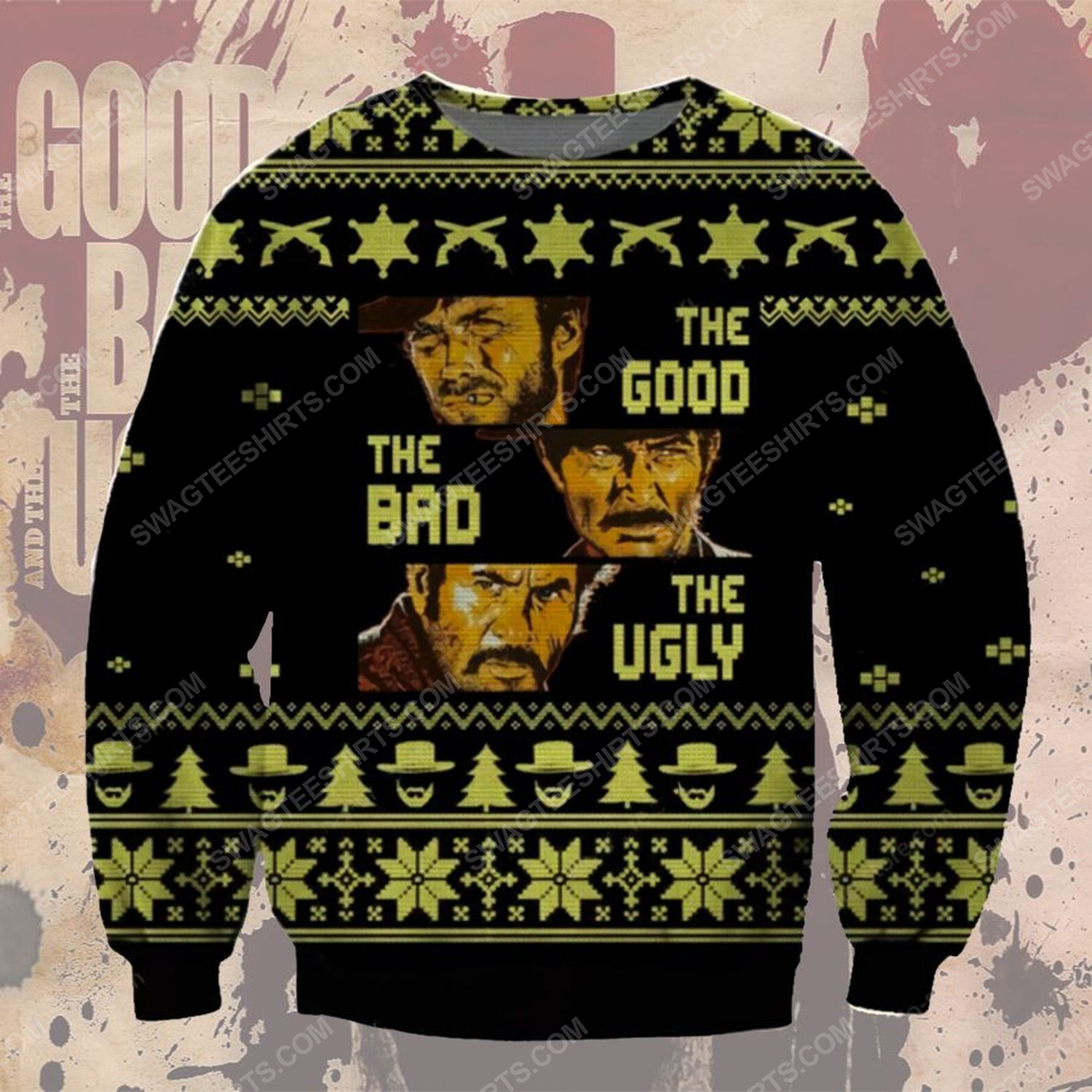 The good the bad and the ugly ugly christmas sweater