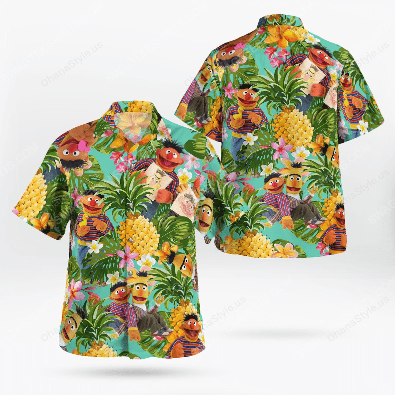 The muppet show bert and ernie hawaiian shirt