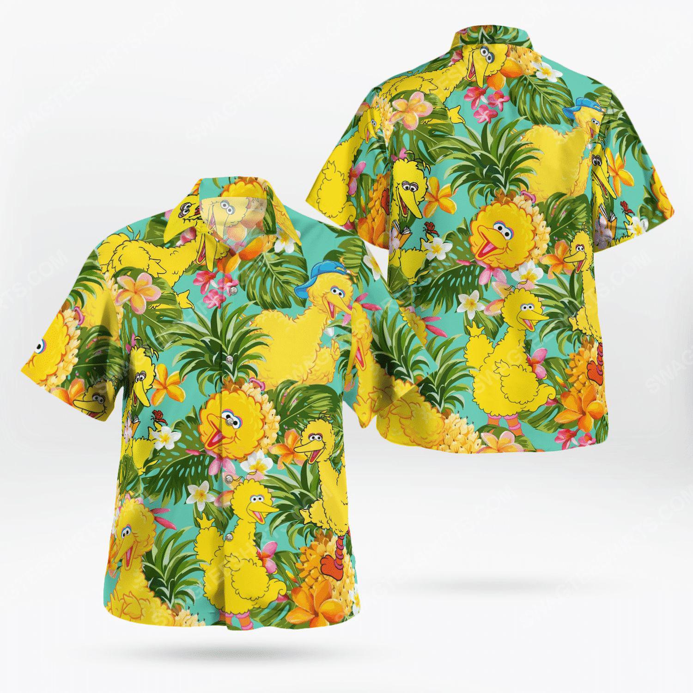 The muppet show big bird hawaiian shirt