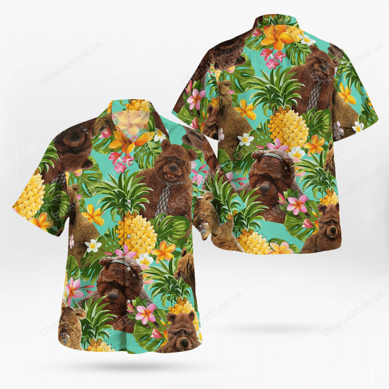 The muppet show bobo the bear hawaiian shirt