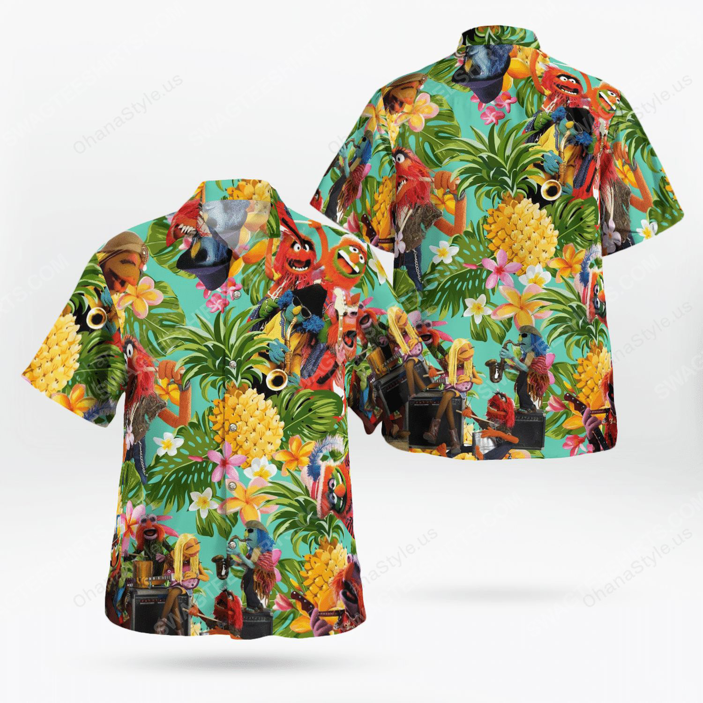 The muppet show dr teeth and the electric mayhem hawaiian shirt