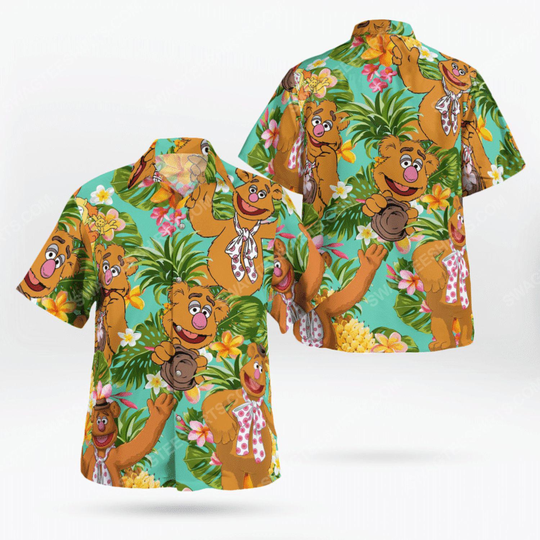 The muppet show fozzie bear hawaiian shirt