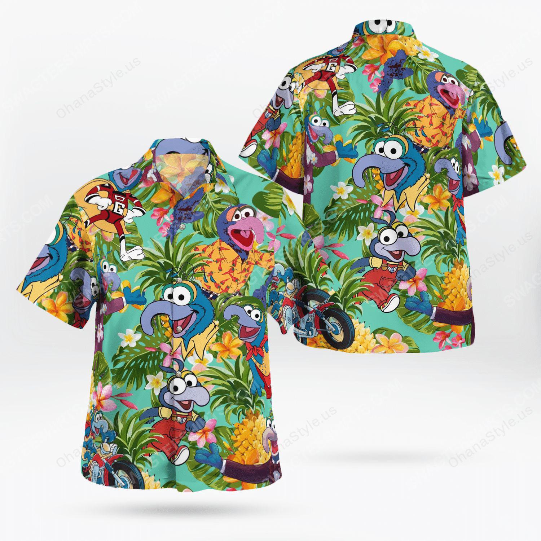 The muppet show gonzo hawaiian shirt