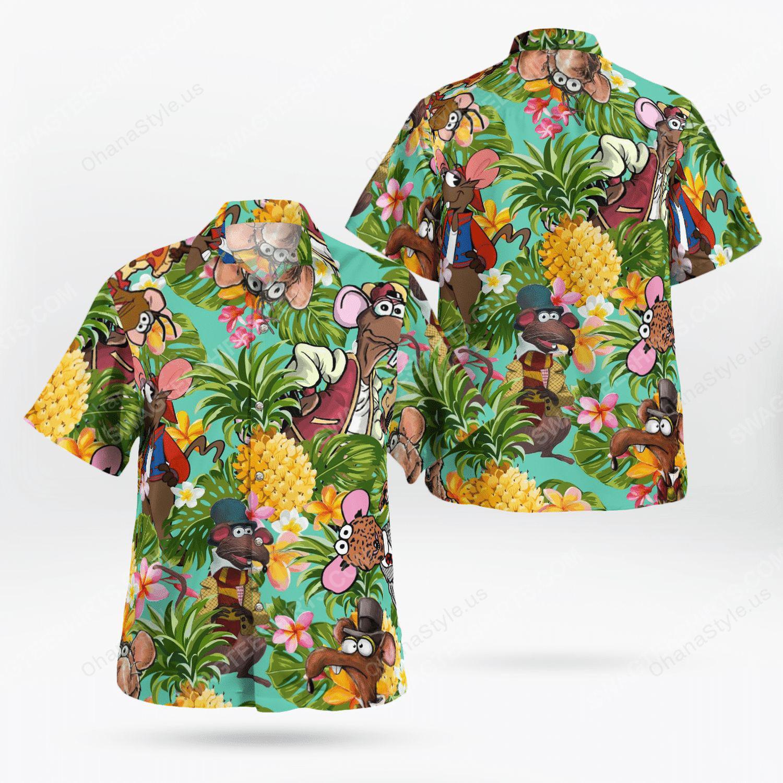 The muppet show rizzo the rat hawaiian shirt